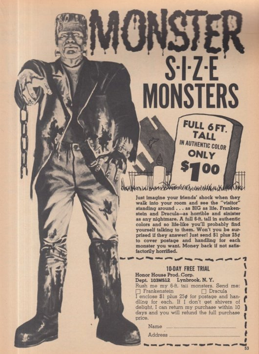 1965 MONSTERS