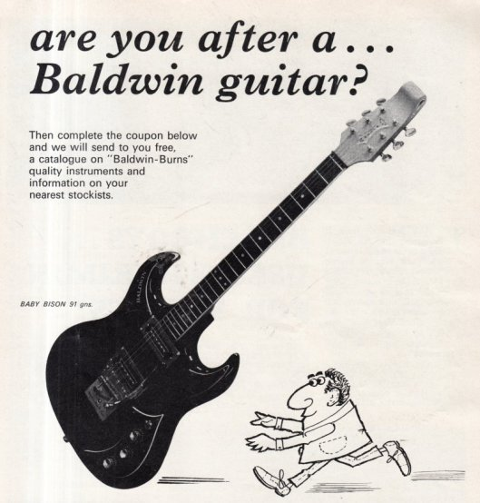 1966 BALDWIN GUITAR