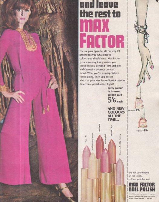 1966 MAX FACTOR