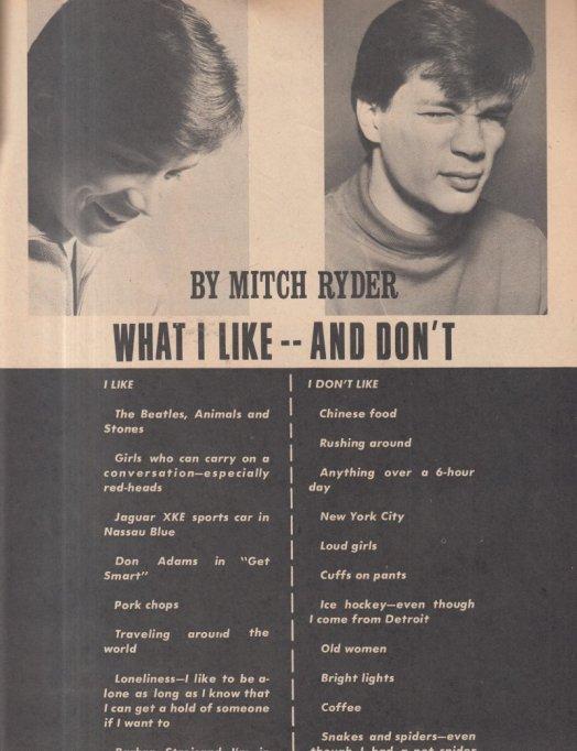 1966 MITCH RYDER