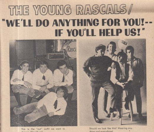 1966 YOUNG RASCALS