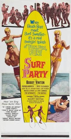 ASTRONAUTS SURF PARTY POSTER 01