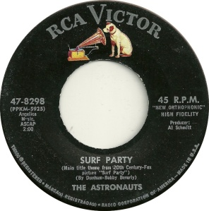 ASTRONAUTS SURF PARTY