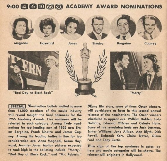 ENT - 1956 ACADEMY AWARDS