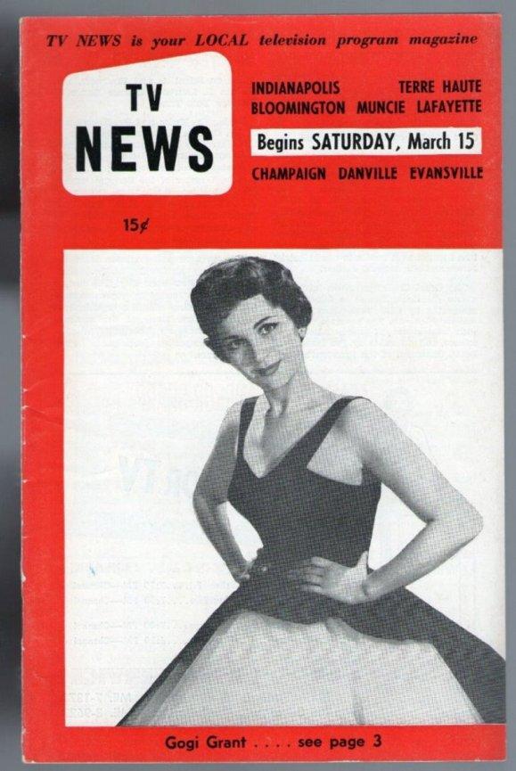 ENT - 1958 GOGI GRANT