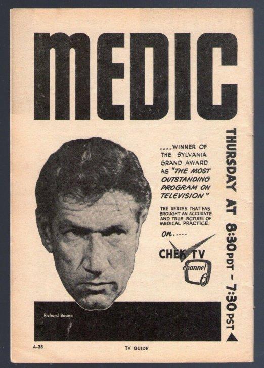 ENT - 1958 MEDIC
