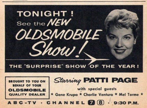 ENT - 1958 PATTI PAGE