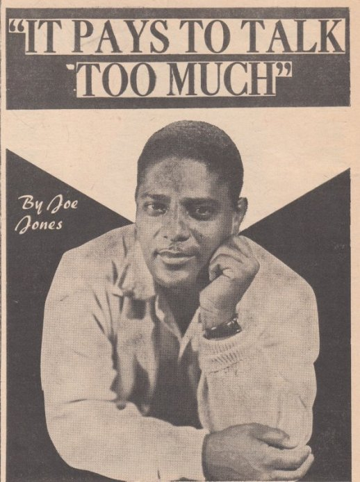 1961 JOE JONES TALKS