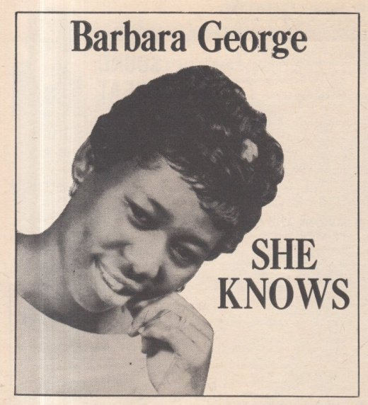 1962 05 BARBARA GEORGE