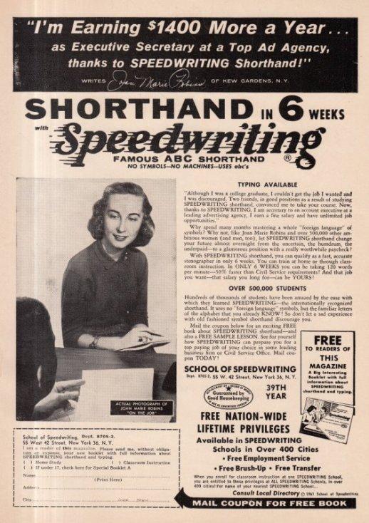 1962 05 SHORTHAND