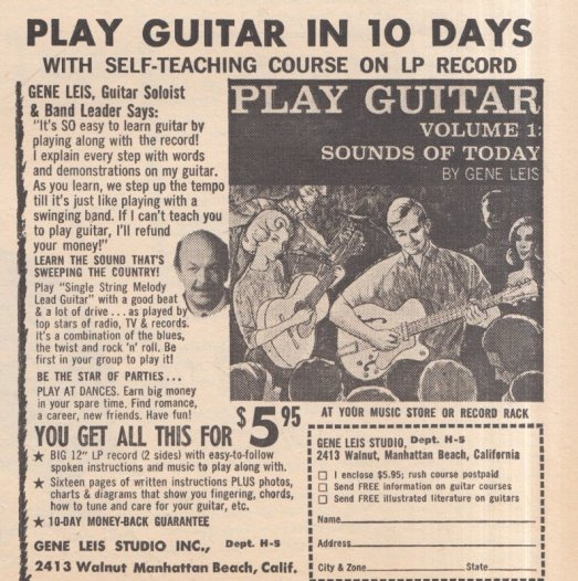 1963 FEB GUITAR IN 10 DAYS