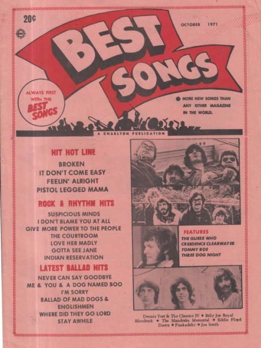 1971 10 BEST SONGS