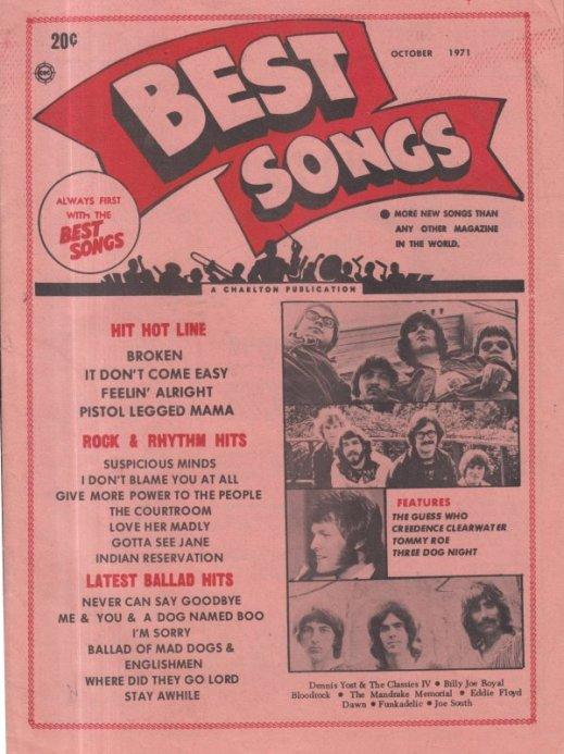 1971 10 BEST SONGS