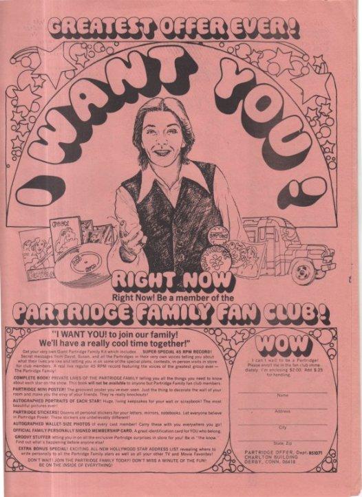 1971 10 PARTRIDGES