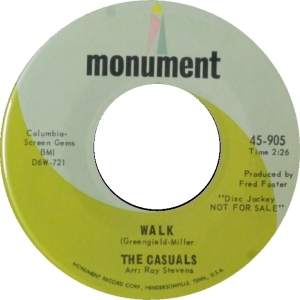CASUALS 09 1965 B