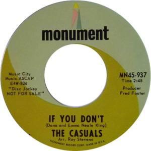 CASUALS 10 1966 B