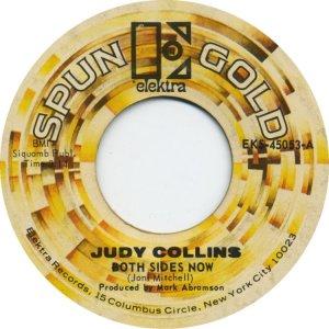 COLLINS JUDY - ELEKTRA 45053 SPUN A