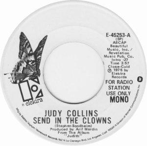 COLLINS JUDY - ELEKTRA 45253 DJ A