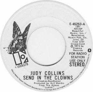 COLLINS JUDY - ELEKTRA 45253 DJ B