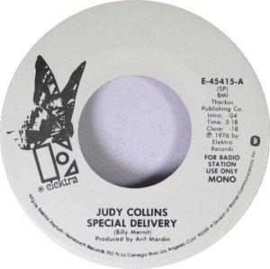 COLLINS JUDY - ELEKTRA 45415 D