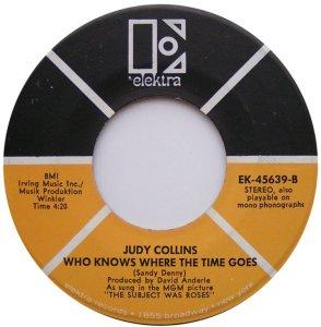 COLLINS JUDY - ELEKTRA 45639 D