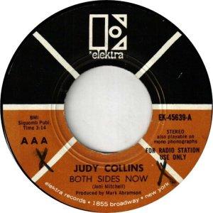 COLLINS JUDY - ELEKTRA 45639 DJ A