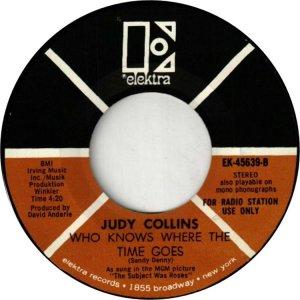 COLLINS JUDY - ELEKTRA 45639 DJ B