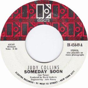 COLLINS JUDY - ELEKTRA 45649 WHITE A
