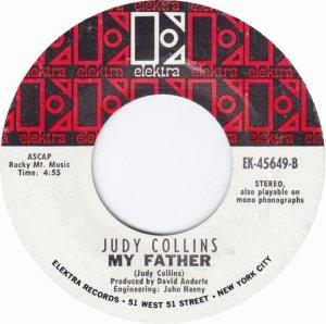 COLLINS JUDY - ELEKTRA 45649 WHITE B