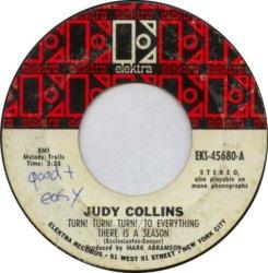 COLLINS JUDY - ELEKTRA 45680 WHITE A
