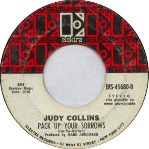 COLLINS JUDY - ELEKTRA 45680 WHITE B