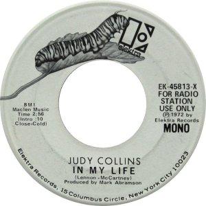 COLLINS JUDY - ELEKTRA 45813 DJ A