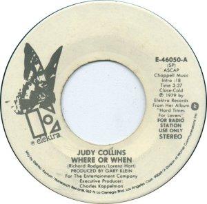 COLLINS JUDY - ELEKTRA 46050 B