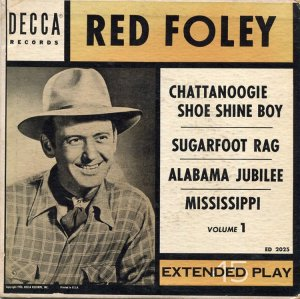 FOLEY RED RECORD