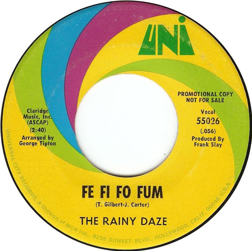 Rainy Daze Fe Fi Fo Fum Stop Sign
