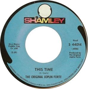 JOPLIN FORTE SHAMLEY 45 1 A