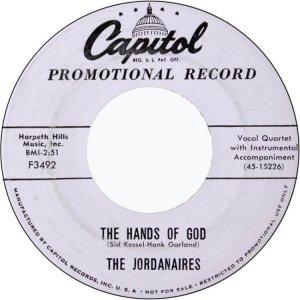 JORDANAIRES RECORD