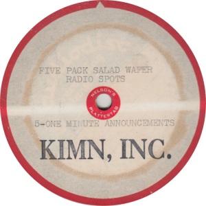 KIMN - RADIO SPOTS