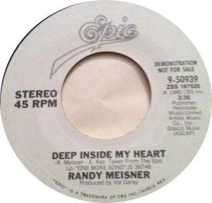 MEISNER RANDY - EPIC 50939 DJ A