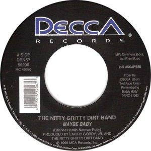 NITTY GRITTY - DECCA 55206 A