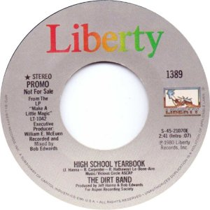 NITTY GRITTY DIRT BAND - LIBERTY 1389 A