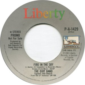 NITTY GRITTY DIRT BAND - LIBERTY 1429 A