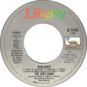 NITTY GRITTY DIRT BAND - LIBERTY 1449 B