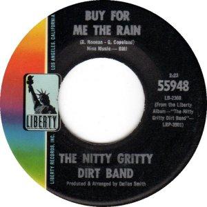 NITTY GRITTY DIRT BAND - LIBERTY 55948 B