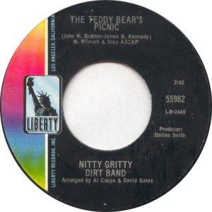 NITTY GRITTY DIRT BAND - LIBERTY 55982 B