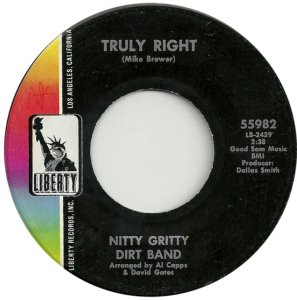 NITTY GRITTY DIRT BAND - LIBERTY 55982 C