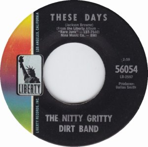 NITTY GRITTY DIRT BAND - LIBERTY 56054 a