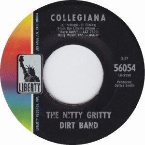 NITTY GRITTY DIRT BAND - LIBERTY 56054 B