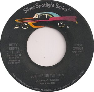 NITTY GRITTY DIRT BAND - SILVER SPOTLIGHT 61 B