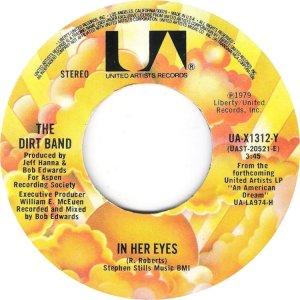 NITTY GRITTY DIRT BAND - UA 1312 A